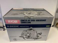 BRAND NEW BOXED 110V RYOBI W-8420NC CIRCULAR SAW