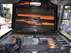 BRAND NEW 246 PIECE DRILL AND PIECE SET