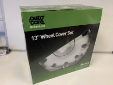4 X BRAND NEW SETS OF 4 13 INCH WHEEL COVER SETS