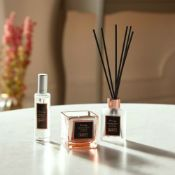 6 X BRAND NEW BOXED BEAUTIFY CANDLE AND REED DIFFUSER SCENTED FRAGRANCE GIFT SET AIR FRESHENER