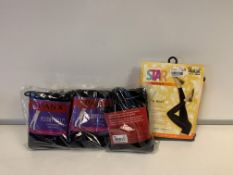 40 PIECE MIXED SPANX LOT INCLUDING LEGGINGS AND SOCKS