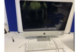 APPLE IMAC ALL IN ONE PC 2.93 GHZ PROCESSOR APPLE X OPERATING SYSTEM 27 INCH SCREEN 640GB HARD DRIVE