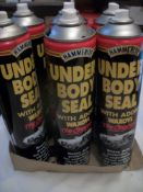 6 x Hammerite Under Body Seal with added Waxoyl RRP over £30