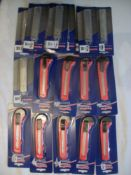 9 x Snap off Blade Knife & 9 Packets of Replacement Blades