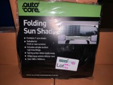 40 X BRAND NEW AUTOCARE FOLDING SUN SHADES