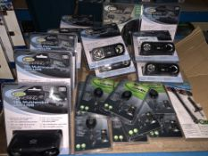 20 PIECE MIXED LOT INCLUDING MULTISOCKETS, KEYRING TORCHES, TYRE DEPTH GAUGES ETC