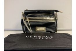 3 X BRAND NEW VERSACE PARFUMS BAG WITH ATTACHABLE STRAP