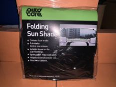 80 X BRAND NEW AUTOCARE FOLDING SUN SHADES