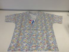 (NO VAT) 20 X BRAND NEW KIDS DIVISION MINI GIRLS KIMONO AGE 4-5 YEARS