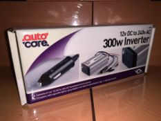 10 X BRAND NEW AUTOCARE 300W INVERTERS