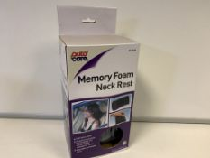 23 X BRAND NEW AUTOCARE MEMORY FOAM NECK RESTS