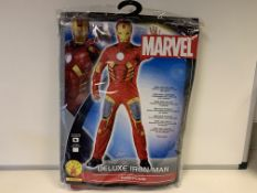 10 X BRAND NEW MARVEL RUBIES IRON MAN COSTUMES SIZE STANDARD