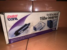 6 X BRAND NEW AUTOCARE 300W INVERTERS