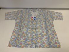 (NO VAT) 22 X BRAND NEW KIDS DIVISION MINI GIRLS FLORAL KIMONOS SIZE 4-5