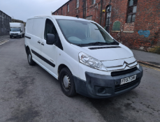 FY57 CMK CITROEN DISPATCH VAN. FIRST REGISTERED 21ST SEPTEMBER 2007, MILEAGE 246,523KM