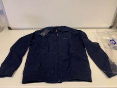 (NO VAT) 3 X BRAND NEW BEN SHERMAN CHILDRENS JACKETS NAVY SIZE 7-8
