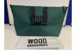 3 X BRAND NEW WOOD DSQUARED2 LARGE BAGS