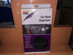 24 X BRAND NEW AUTOCARE CAR BOOT ORGANISERS IN 2 BOXES