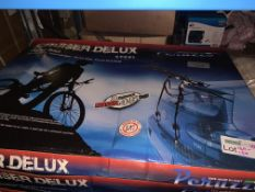 2 X BRAND NEW CRUISER DELUXE BIKE CARRIERS 3 BIKES UPTO 45KG
