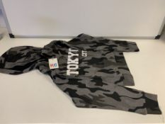 (NO VAT) 14 X BRAND NEW THE KIDS DIVISION CAMO HOODIES SIZE 4-5