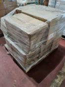 (H36) PALLET TO CONTAIN 8 x DESIGNER TOILET PANS BOXED