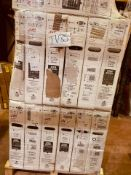 (TV35 ) PALLET TO CONTAIN13 x VARIOUS RETURNED TVS TO INCLUDE .JVC SIZES INCLUCE: 43INCH, NOTE: