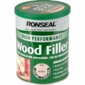 (REF2042711) 1 Pallet of Customer Returns - Retail value at new £559.46. To include: RONSEAL WOOD