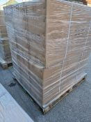 PALLET TO CONTAIN 5 x NEW BOXED MADISON WALL HUNG ELECTRIC DISPLAY ONLY FIRES - IDEAL FOR BARS,