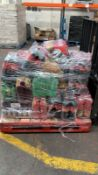 12 PALLET MIXED LOT TO INCLUDE: COCA COLA, MAYONAISE, WATER, CHEETOS ETC
