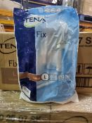 NO VAT (J206) PALLET TO CONTAIN 280 x NEW SEALED PACKS OF 5 TENA FIX LARGE