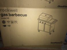 PALLET TO CONTAIN 6 x NEW BOXED ROCKWELL MODEL 310 GAS BBQ. NOTE: BOX 1 ONLY.
