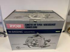 BRAND NEW BOXED 110V RYOBI W-8420NC CIRCULAR SAW (99/23)