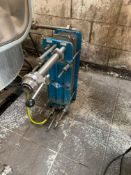 """Dari-Kool stainless-steel plate heat exchanger with 25 plates, 25mm hose attachment and 1.5"""" RJT"""