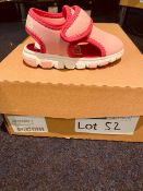 NEW AND BOXED PINK REEBOK I-5