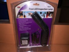8 X BRAND NEW FLEXI LED INSPECTION LAMPS (118/2)