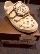 NEW AND BOXED CLARKS CITY STORM STAR WARS UK 12