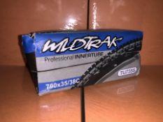 48 X BRAND NEW WILDTRACK PROFESSIONAL INNERTUBES (126/2)