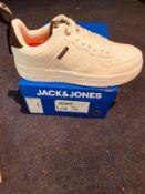 NEW AND BOXED JACK &JONES WHITE UK5