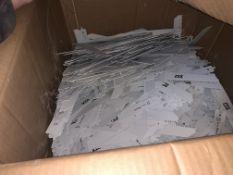 BOX CONTAINIG A LARGE QUANTITY OF PTX WOOD SAW BLADES