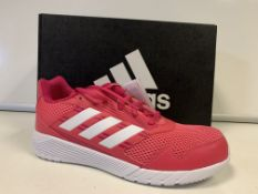 (NO VAT) 5 X BRAND NEW CHILDRENS ADIDAS ALTA RUN PINK TRAINERS SIZE 5