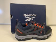 (NO VAT) 5 X BRAND NEW CHILDRENS REEBOK NAVY RUGGED RUNNER TRAINERS SIZE I12