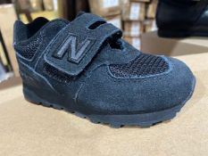 NEW & BOXED NEW BALANCE VECROW TRAINER SIZE INFANT 6
