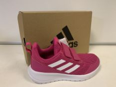 (NO VAT) 3 x NEW BOXED PAIRS OF ADIDAS ALTARUN CR K TRAINERS. SIZE JUNIOR UK 4.