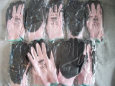 10 Pairs x Anti-Cut Work Gloves RRP over £6 per pair