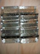 10 x Galvanised Steel Metal Back Boxes 2G