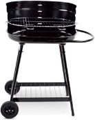 Barren Portable Charcoal Trolley Barbecue BBQ Outdoor Grill with Wheels RRP over £100