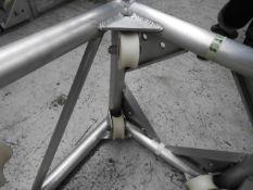 Thomas Truss climbers / roller blocks 20.5 x 20.5 x 20.5' to run on 12' square uprights