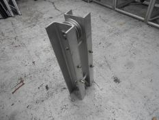 double Pully block for 12' square uprights