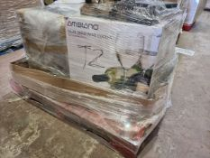 (T2) PALLET TO CONTAIN 5 x VARIOUS ITEMS TO INCLUDE AMBIANO DUAL ZONE WINE COOLER: ITEMS ARE