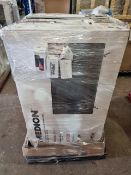 (T5) PALLET TO CONTAIN 8 x VARIOUS RETURNED ITEMS TO INCLUDE 5 TVS TO INCLUDE MEDION. SIZES INCLUCE: